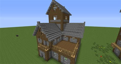 minecraft house tutorial step  step pictures zion modern house