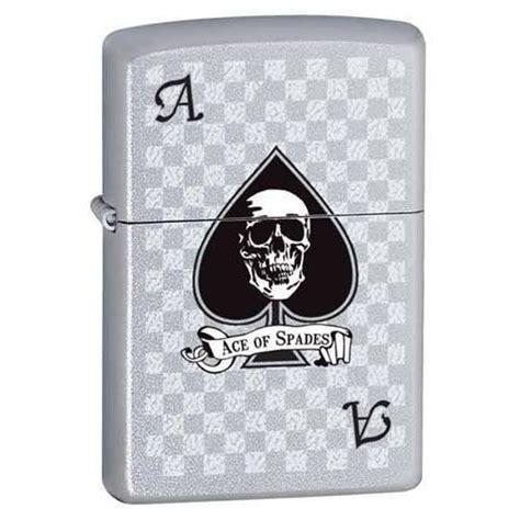 Zippo Lighter  Ace With Skull  Lighter Usa
