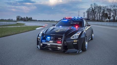 Cop Cars by Nissan Builds Gt R Cop Car Nicknamed Quot Copzilla Quot The Drive