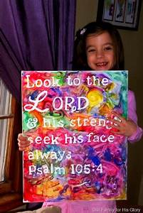 stick letters to a canvas and let kids paint over it to With letters to paint over