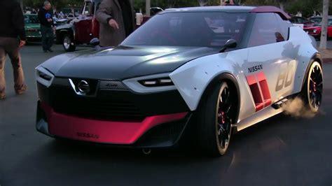 Nissan IDx Nismo concept and IDx Freeflow concept car driving! - YouTube
