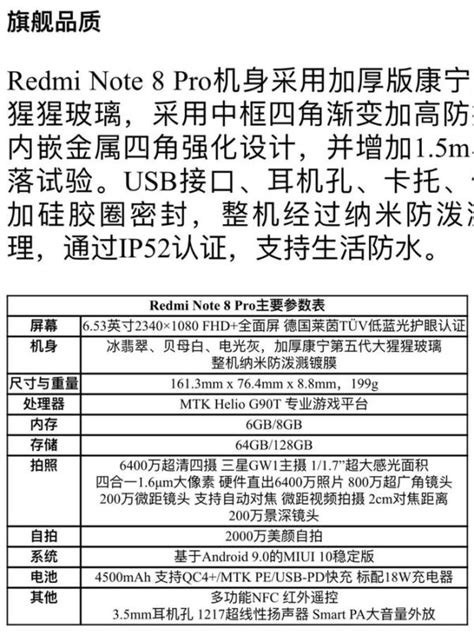 Redmi Note 8 Pro Spec Sheet Appears, Two Variants Coming