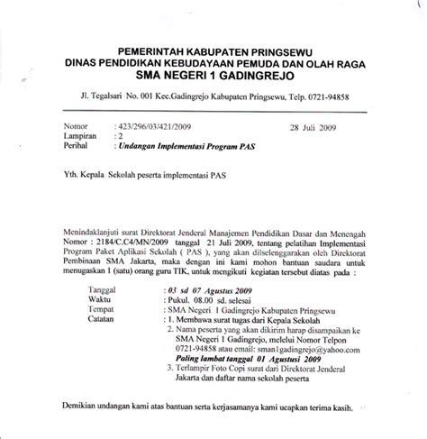 contoh surat undangan resmi islam contoh isi undangan