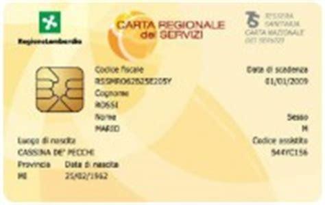 Ufficio Scelta E Revoca Carta Regionale Dei Servizi Prosegue La Distribuzione Dei