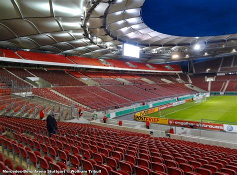 mercedes benz arena stuttgart wolfbulls stadionwelt stuttgart mercedes benz arena