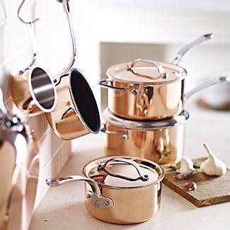 copper tri ply cm mini saucepan lakeland