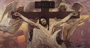 Crucified Christ, 1885 - 1896 - Viktor Vasnetsov - WikiArt.org