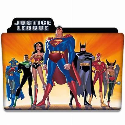 Justice League Icon Folder Tv Series Dyiddo
