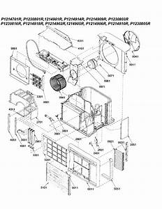 Chassis Diagram  U0026 Parts List For Model 9m11tap1214612r Amana