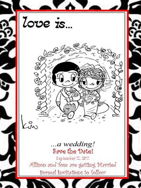 Save The Date Love Is  Weddingbee Photo Gallery