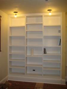 DIY Build Built In Bookcase Plans Wooden PDF youtube wood