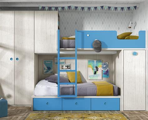 Chambre Avec Lit Superpose Chambre Pour Enfant Avec Lit Superpos 233 Armoire Et Bureau