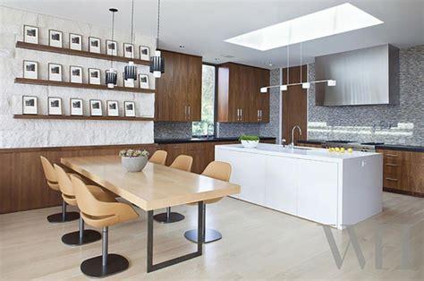 luminaire cuisine design ambiance cosy par le luminaire led dans une cuisine