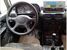 Used Hyundai SUV 2001 2001 Hyundai Galloper Rwanda CarMart