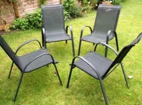 outdoor garden furniture stacking metal chair s 163 32 88