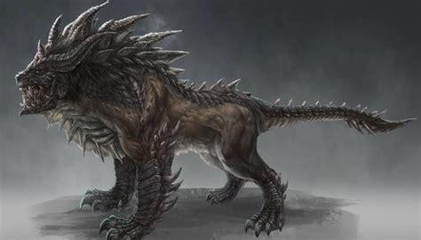 latest concept art previews terrifying creatures