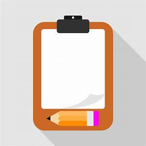 Vector for free use: Empty paper sheet