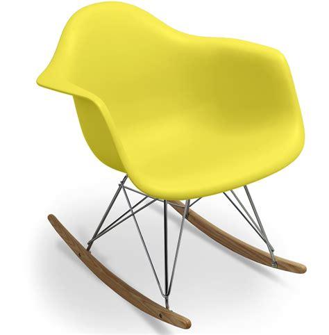 chaise bascule eames chaise a bascule eames 28 images fauteuil 224 bascule