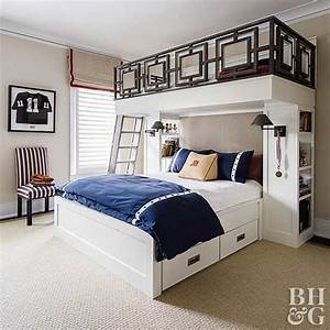 Our favorite boys bedroom ideas neutral color scheme for Boys queen headboard