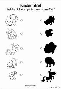 Welcher Kot Gehört Zu Welchem Tier : kinderr tsel welcher schatten geh rt welchem tier ~ Frokenaadalensverden.com Haus und Dekorationen