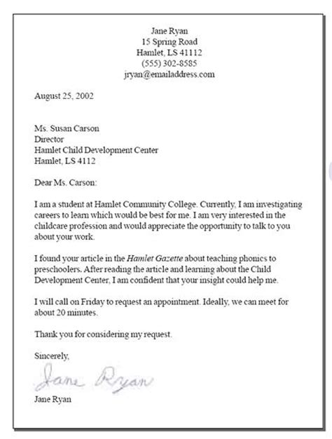 sample cover letter requesting interview