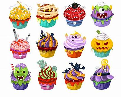 Halloween Candy Clipart Cupcake Graphics Drawings Drawing