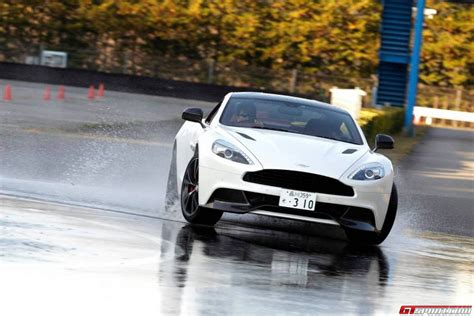 Aston Martin Performance Driving Course At Twin Ring