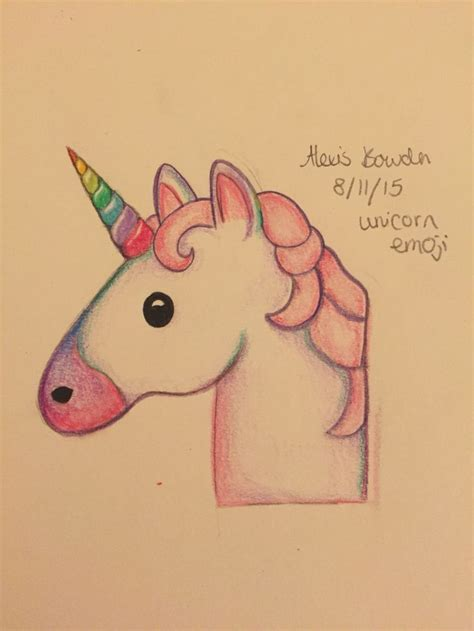 unicorn drawing ideas  pinterest easy  draw
