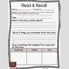 291 Best Images About First Gradereading Comprehension On