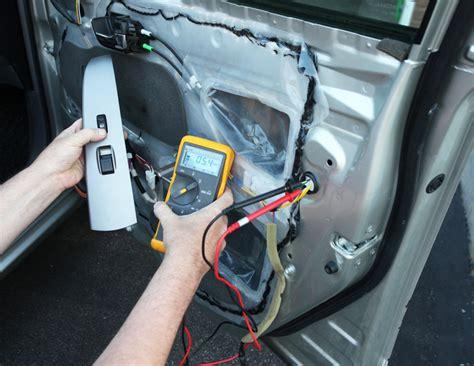 door lock actuator problems testing replacement