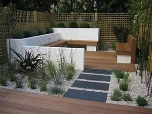Petit Jardin Moderne : jardin contemporain et accueillant pour le printemps en 50 id es ~ Dode.kayakingforconservation.com Idées de Décoration