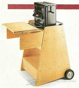 #1383 Portable Planer Stand Plans • WoodArchivist