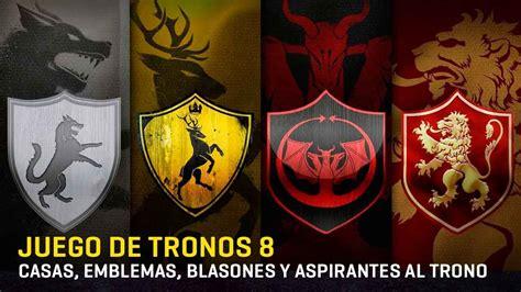 Casas, Emblemas, Lemas, Blasones Y
