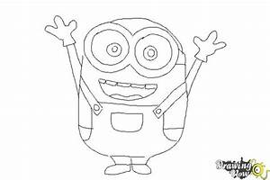 How to Draw a Minion Step by Step | DrawingNow