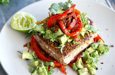best way to cook tuna steak there are many ways to cook tuna steaks but this mexican inspired tuna steak recipe delivers