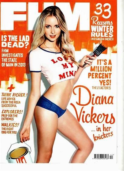 Fhm Magazine Vickers Diana December Maxim Covers