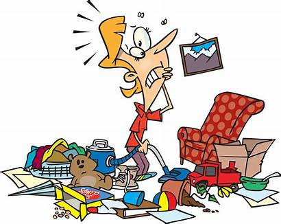Disarray Clip Clipart Clean Cleaning Things Clutter