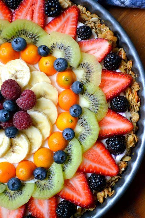 Beautiful Breakfast Recipes beautiful breakfast tart recipe fresh fruit granola