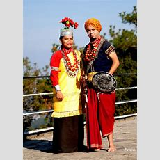 Khasi Tribal Dress  He Traditional Khasi Male Dress Is
