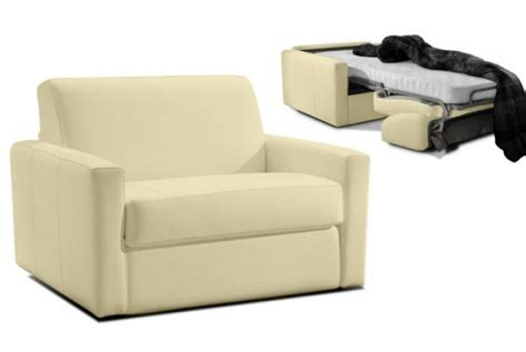 fauteuil convertible en cuir james design en direct de l
