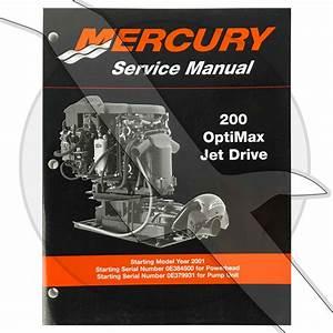 2015 200hp Optimax Mercury Marine Service Manual