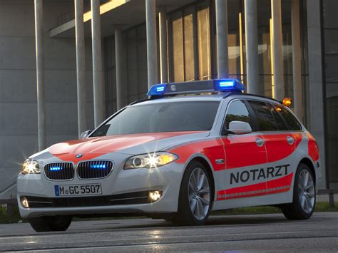 Bmw 5 Series Touring Wallpaper by 2011 Bmw 5 Series Touring Notarzt F11 Ambulance Emergency