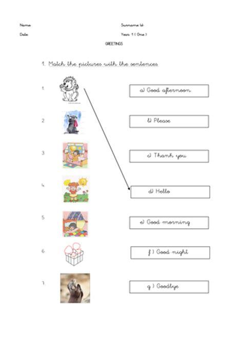 matching worksheet  teaching resources
