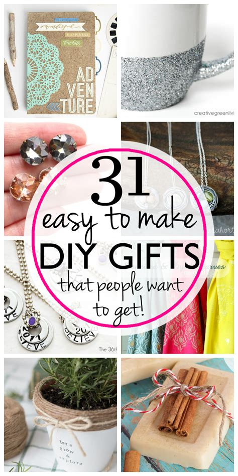 easy inexpensive diy gifts  friends  family