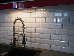 Faience Metro Blanc : carrelage cuisine grenoble ~ Farleysfitness.com Idées de Décoration