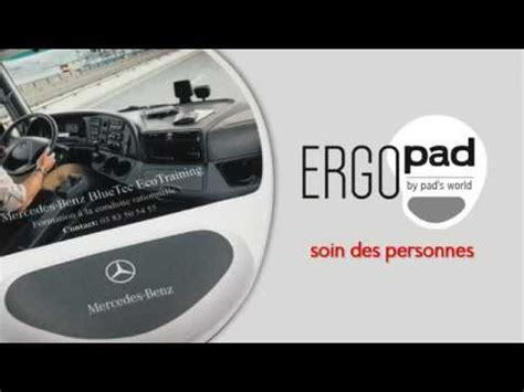 ergopad by pad s world tapis de souris ergonomique avec