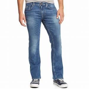 Guess Bootcut Folsom Blues-Wash Jeans in Blue for Men (Folsom Blue) | Lyst