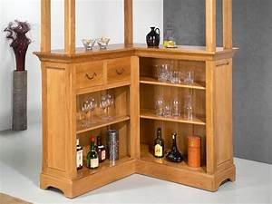 Meuble Bar Maison Du Monde : marvelous meuble bar bois massif 2 meubles en bois ~ Nature-et-papiers.com Idées de Décoration