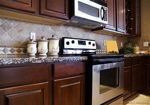 pictures of kitchens traditional dark wood cherry color 2321