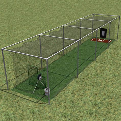 Deck Batting Cages Baton by Custom Netting Cage Batting Cage Shell Cage
